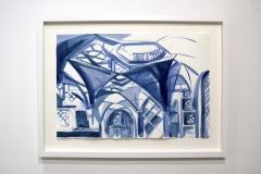 Blue-Interior-installation-view
