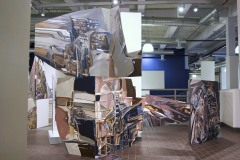 01.-Inside-Out-Installation-Acrylic-on-Wood-Panels-100x110x36-and-48x30x36-inches-2014