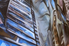 18.-Inside-Out-Installation-Acrylic-on-Wood-Panels-100x110x36-and-48x30x36-inches-2014