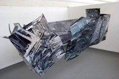 07.-Metamorphosis-Installation-Cooper-Union-NY-2015-Acrylic-on-Shaped-Industrial-Grade-Aluminum-Sheets-84x180x72-inches