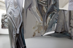 15.-Metamorphosis-Installation-Cooper-Union-NY-2015-Acrylic-on-Shaped-Industrial-Grade-Aluminum-Sheets-84x180x72-inches