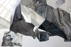 16.-Metamorphosis-Installation-Cooper-Union-NY-2015-Acrylic-on-Shaped-Industrial-Grade-Aluminum-Sheets-84x180x72-inches