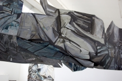 17.-Metamorphosis-Installation-Cooper-Union-NY-2015-Acrylic-on-Shaped-Industrial-Grade-Aluminum-Sheets-84x180x72-inches