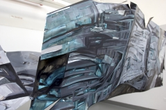 21.-Metamorphosis-Installation-Cooper-Union-NY-2015-Acrylic-on-Shaped-Industrial-Grade-Aluminum-Sheets-84x180x72-inches