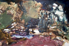 The-World-is-Beautiful-Before-it-is-True-acrylic-on-canvas-48x84-2012-1