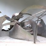 Unification, 12 gauge stainless steel, 6'x 9'x 7', 2020
